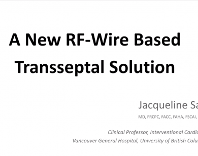 Webinar: A New RF Wire Based Transseptal Solution