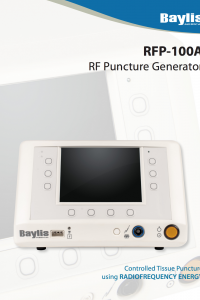 RFP-100A Generator Brochure
